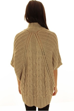 Cable Knit Poncho Pattern Patterns Gallery