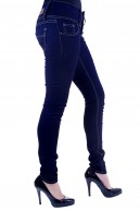 MISS ANNA SKINNY DARK DENIM JEANS