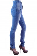 BLUE RAGS HIGH WAISTED SKINNY JEANS