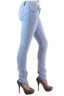 BLUE RAGS LIGHT BLUE SKINNY DENIM JEANS