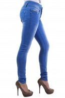 TOXIK3 HIGH WAIST DENIM SKINNY JEANS
